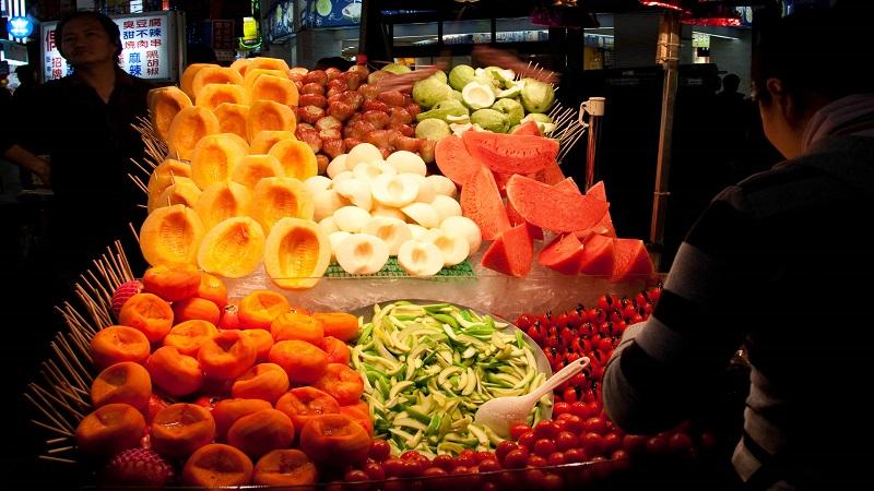 Fruit at night