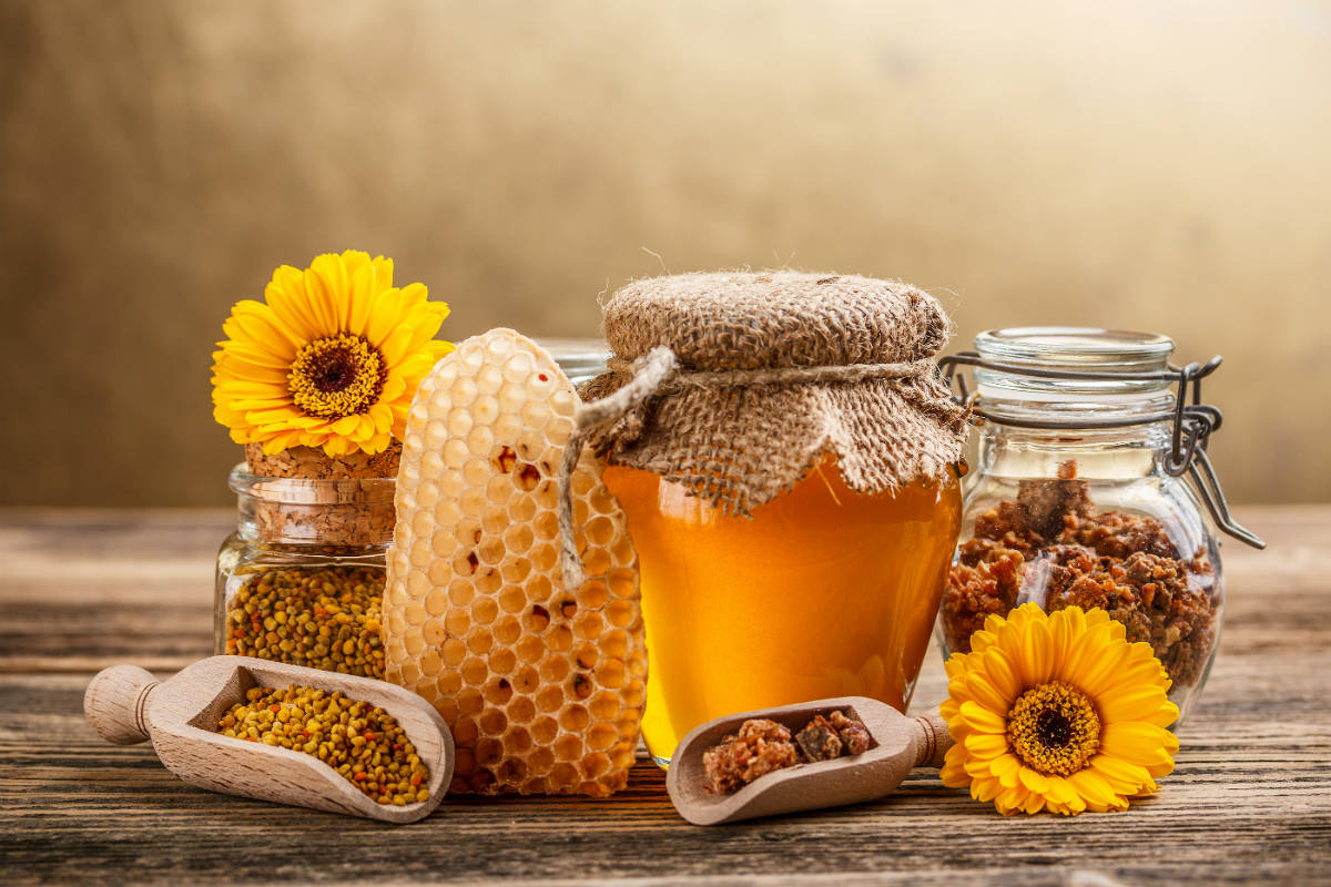 Do you know sunflower honey? That's why use it against cholesterol