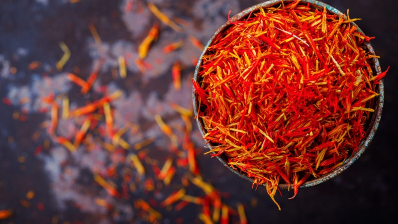 The properties of saffron: a healing elixir not only at the table